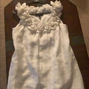 White dress size 10